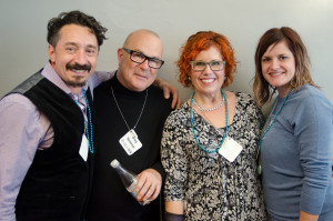 Ron Suraino, Greg Starkman, Kelly E. Anker and Carrie Linnette.