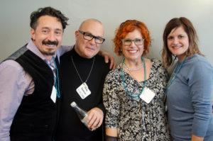 Ron Suraino, Greg Starkman, Kelly E. Anker and Carrie Linnette.