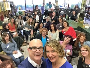 Thank you Greg and Joanne Starkman creators of Innersense Organics for sharing your knowledge and letting us embrace your pure and clean Orgainc your line for our curly hair guests!