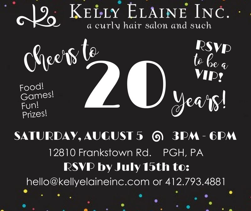 Cheers to 20 Years! Celebration of Curls, Love and Unity!